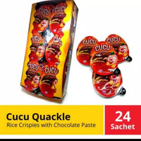 1 box coklat cucu quackle isi 24 ( kinder joY KW )