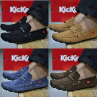 COD !! Sepatu Slop Pria Kickers PAPARA Sepatu Casual Slip On Pria
