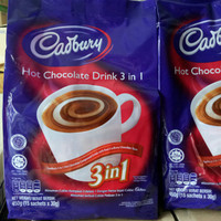 Cadbury Hot Chocolate Drink 3 in 1