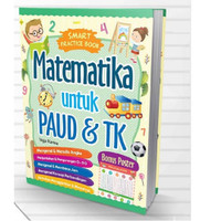 Buku Smart Practice MATEMATIKA UNTUK PAUD TK Cikal Aksara Vega Karina