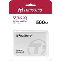"""Transcend SSD SATA III 2,5"""" 500GB - TS500GSSD220Q"""