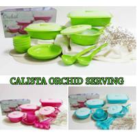 Calista Orchid SET 12 PCS Prasmanan Set Tempat Wadah Makan Saji Dish