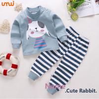Pakaian Anak / Setelan / Import / Baju Anak - Cute Rabit - 4 - 6 Tahun