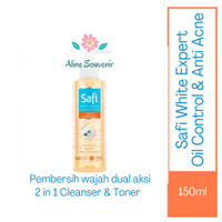 Safi White Expert Oil Control&Anti Acne 2 in 1 Cleanser&Toner 150ml