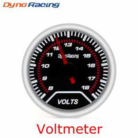 Dynoracing Dekorasi Mobil Car Otomotif Decoration Voltmeter - Q195