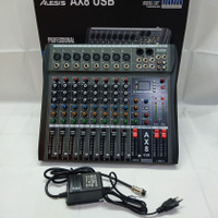 mixer audio alesis ax8n 8chanel bagus murah