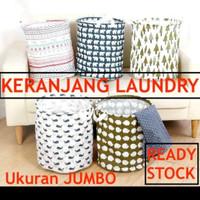 Keranjang Laundry Kain JUMBO laundry bag keranjang baju tempat baju