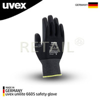 uvex unilite 6605 safety glove 60573 - S