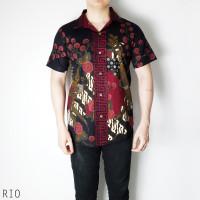 Rio Man Jumbo - Kemeja Batik Jumbo Pria Lengan Pendek
