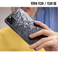 VIVO V20 / V20 SE 3D Clear Diamond Back Skin Sticker Protector