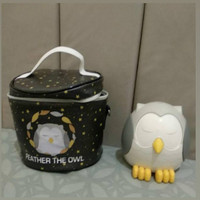 Preloved Owl Diffuser Feather the Owl Young Living free Bag and oil