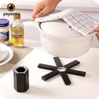 FOLDING POT MAT LIPAT PLASTIK ANTI MELEPUH-YOYOSOO