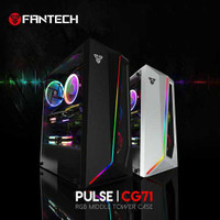 Casing PC Gaming Fantech Pulse CG71 RGB Tempered Glass