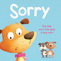 Sorry Board Book. Magic Words Series. Buku Anak Import