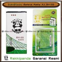 Baterai Nokia X2 BV-5S Lumia X-2 Dual Sim BV5S Batre HP RakkiPanda