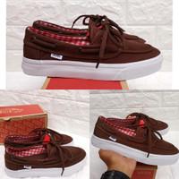 Sepatu Vans Zapato Brown Premium Dt China Sepatu Pria Wanita Vans