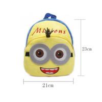 Tas Sekolah Anak Paud Karakter Kartun Minion