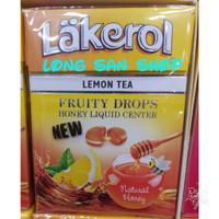Lakerol Fruity Drops Lemon Tea with Honey - Permen Impor 40 gr