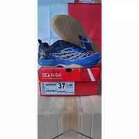 sepatu badminton hiqua inter action anak obral(minus)