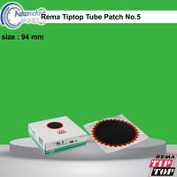 Rema TipTop Tube Patch No.5 Karet Koyok Tambal Ban TipTop 5000108