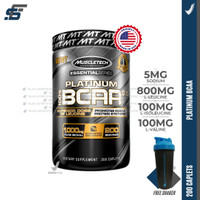 Muscletech Platinum Bcaa 200 Tabs 200tabs Muscle tech Bcaa Tablet