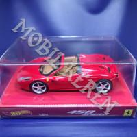 Hot Wheels Elite 1:24 Ferrari 458 Spider Red