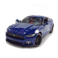 Welly 2015 Ford Mustang GT 1:24 - Biru [MBW 500-BIRU]