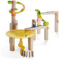 HABA Ball Track Basic Pack Funnel Jungle - Wooden Marble Run