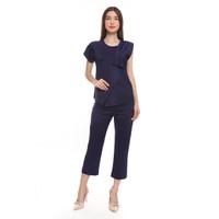 Buy 1 Get 1 - Basix Gemma Blue Blouse, Free Pants