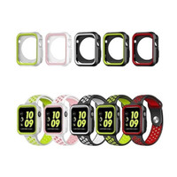 Soft case apple watch nike iwatch 1 2 3 4 5 6 silicon rubber bumper