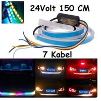 LAMPU LED BAGASI BUS RGB LAMPU REM TRUK 24 VOLT RGB 150 cm 150cm 24V