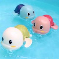 Bayi Mandi Mainan Jarum Jam Mainan Penyu Bak Kolam Renang / RH