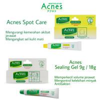 Acnes - Spot Care 12 Gr/Sealing Gel 18gr/Obat Jerawat/Gel Jerawat