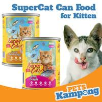 Makanan Supercat Kitten 400gr kucing kaleng