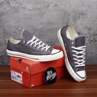 Sepatu Converse Chuck 70S Mason Grey Black Egret Abu Ox Low