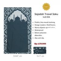 [FREE TASBIH] Sajadah Travel Saku Lipat PREMIUM WATERPROOF Murah - 058