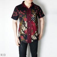 Rio Man Standar - Kemeja Batik Pria Lengan Pendek