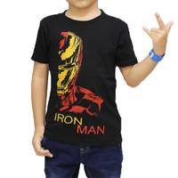 Kaos Anak Karakter Superhero Avenger Ironman / KAOS SUPERHERO IRON MAN