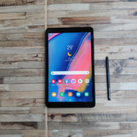 Samsung Tab A8 2019 With S-Pen Ram 3/32gb Retak sehelai