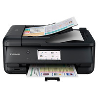 Canon Printer Pixma TR8570 Hitam Print - Scan - Copy - Fax - WIFI- LAN
