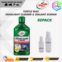 Turtle Wax HEADLIGHT CLEANER & SEALANT ECERAN/REPACK