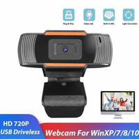BACO HD Webcam Desktop Laptop with Microphone Video Call 720P - U801
