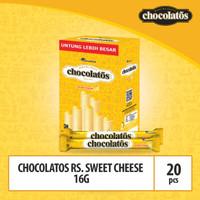 CHOCOLATOS WHITE Sweet Cheese- 16gr (WJU8) / Showboks