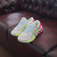 ASICS GEL-KAYANO 27 LITE-SHOW WHITE PINK YELLOW