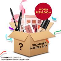 FOCALLURE Mystery Box Eyeshadow Palette Lipstik Blush On Eyeliner
