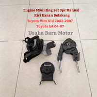 Engine Mounting Monting Set 3pc Toyota Vios Old , Limo , Ist 04-07