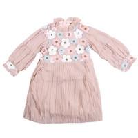 Cute Flowers with Ruffle Dress -MOEJOE