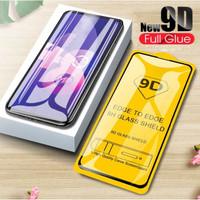 "KOREAN FULL LEM Oppo RENO4 F 6.43"" Tempered Glass F17 PRO FULL LAYAR"
