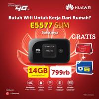 HUAWEI MODEM E5577 Mifi Wifi 4G LTE (UNLOCK VERSION) - Putih