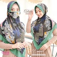 Hijab Instan Khimar - Adista Serut by Quail
